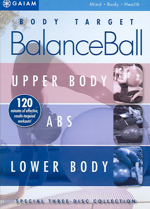 Body Target BalanceBall with Suzanne Deason 3 DVD Set