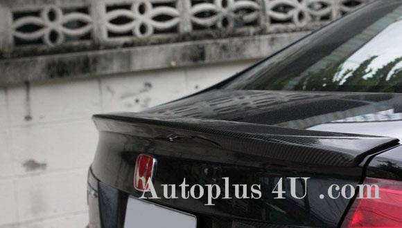 Spoiler Ducktail Civic FB คาร์บอนแท้