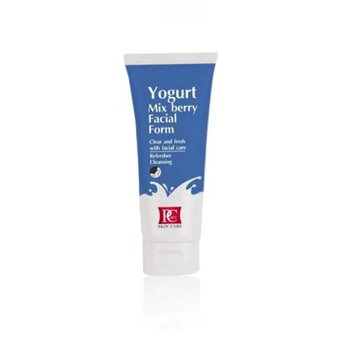 Pcare Skincare Yogurt Mix berry Foam - โฟมโยเกิร์ต 2 in 1