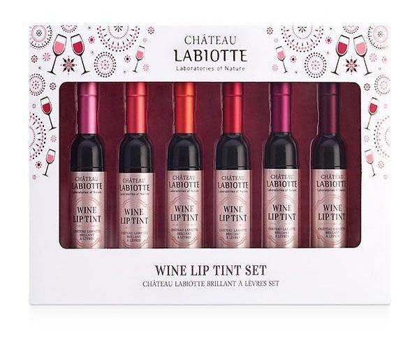 Wine Lip Tint Set ลิปทิ้นท์ขวดไวน์ (ยกกล่อง)