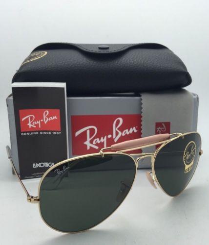 Ray Ban RB3029 L2112 Aviator Outdoorsman II 62 mm