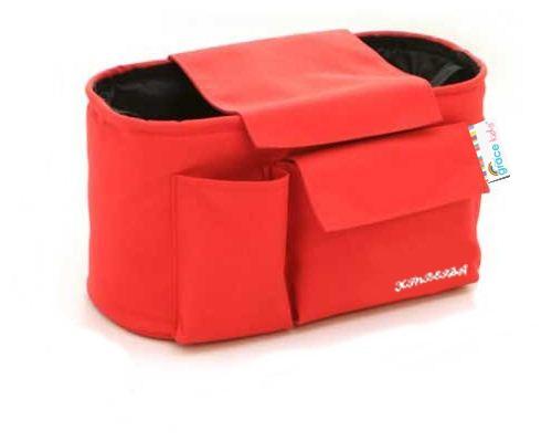 เกรซคิดส์กระเป๋าห้อยรถเข็น แบบ Half Hanger (สีแดง)