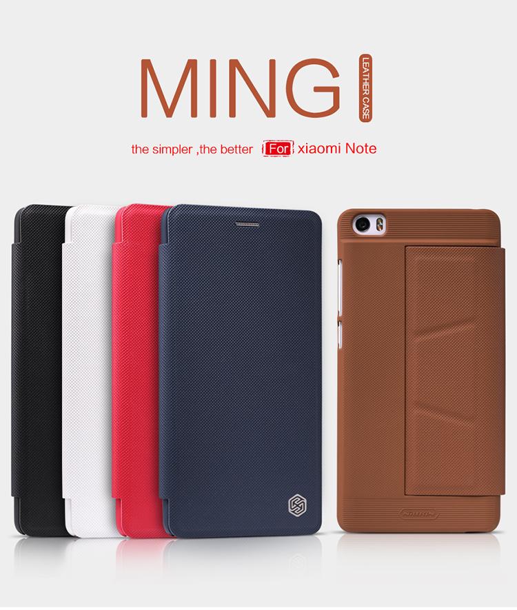 เคส Xiaomi Mi Note ยี่ห้อ Nillkin รุ่น Ming leather case