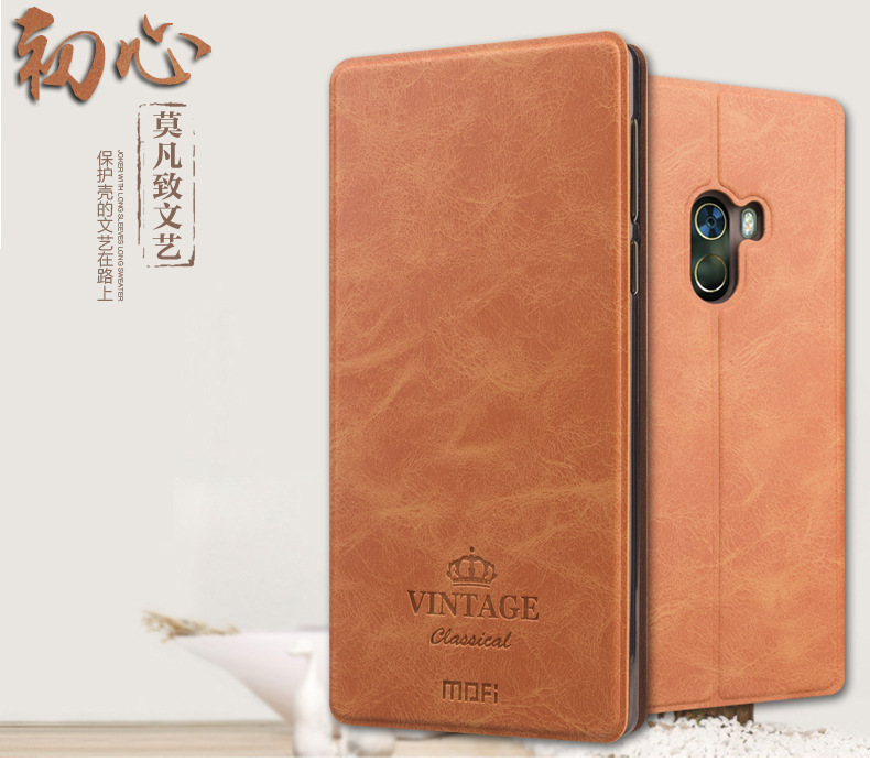 เคส Xiaomi Mi Mix ฝาพับหนังอเนกประสงค์ MOFI