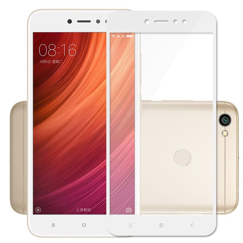Xiaomi Redmi Note 5A Prime ฟิล์มกระจกนิรภัยเต็มจอ 9H (ขอบขาว)