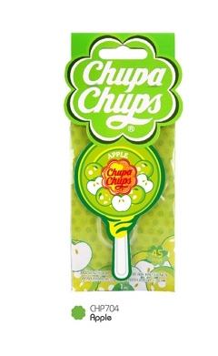 (1 แถม 1) Chupa Chups แผ่นน้ำหอม Lollipop กลิ่น Apple