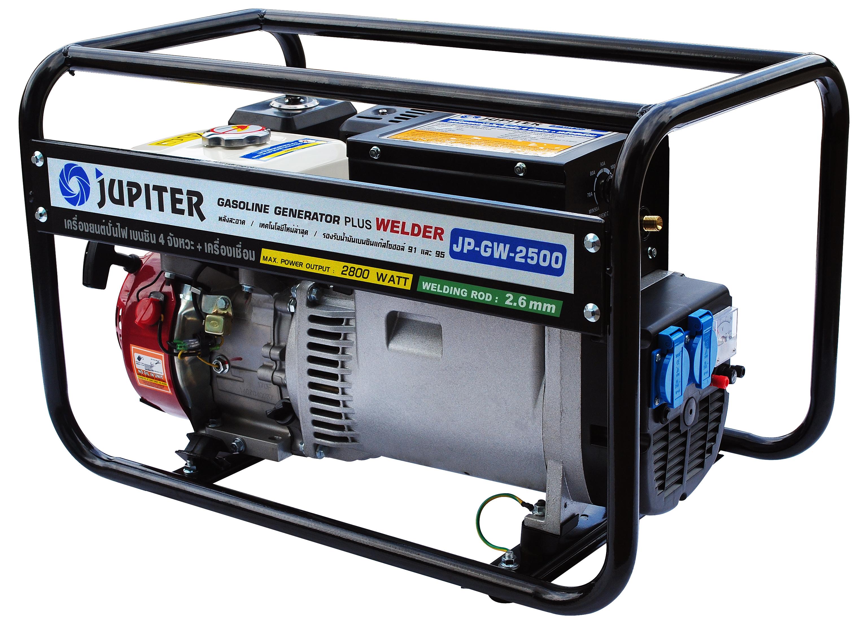เครื่องยนต์ปั่นไฟ เบนซิล 4 จังหวะ JUPITER รุ่น JP-GEN-2500