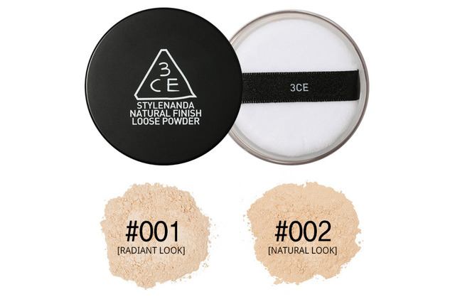 3CE Stylenanda Natural Finish Loose Powder 20g [001:Radiant Look]