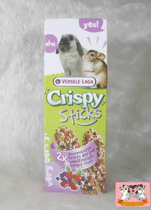 crispy sticks ธัญพืชชนิดแท่ง(เบอร์รี่)