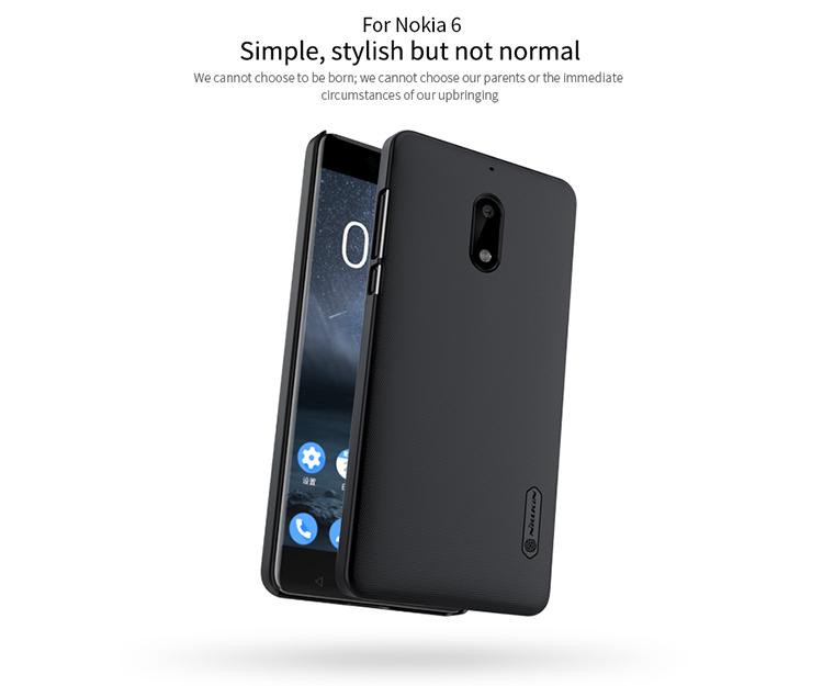 เคสมือถือ Nokia 6 รุ่น Super Frosted Shield