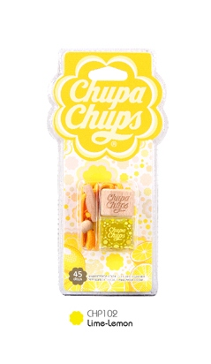 Chupa Chups น้ำหอมปรับอากาศอโรมาในขวดแก้ว กลิ่น Lime Lemon (มะนาว)