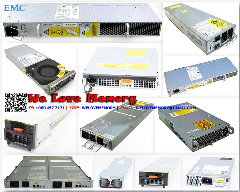 EMC 071-000-462 [ขาย จำหน่าย ราคา] EMC Power supply/blower Input 1U module for CX3-20 and CX3-40 (RoHS)
