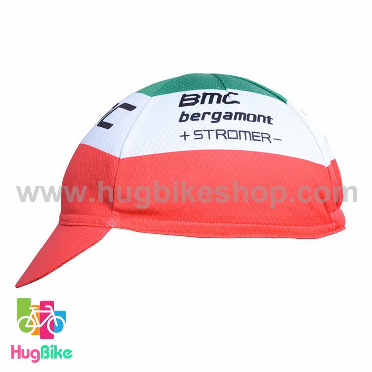หมวกแก๊บ BMC 16 (02) สีแดงขาวเขียว