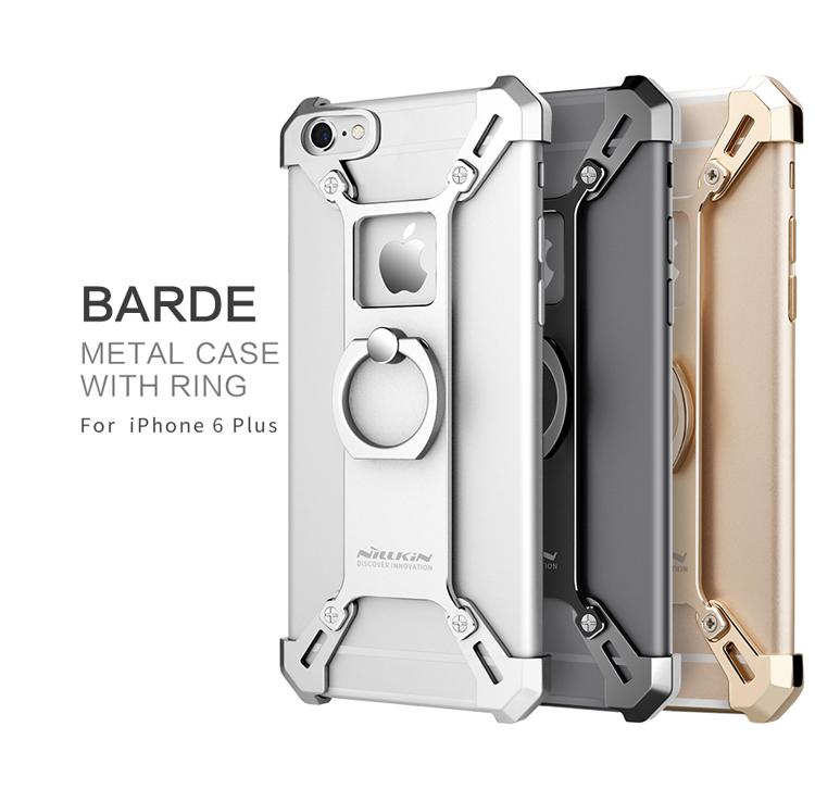 เคสมือถือ Apple iPhone 6 Plus/6S Plus รุ่น Barde Metal Case With Ring