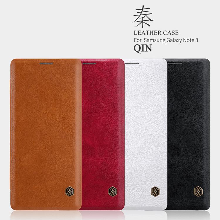เคสมือถือ Samsung Galaxy Note 8 รุ่น Qin Leather Case