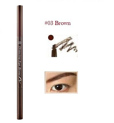 ++พร้อมส่ง++Etude House Drawing Eye Brow เบอร์ 03 สี Brown 0.25g