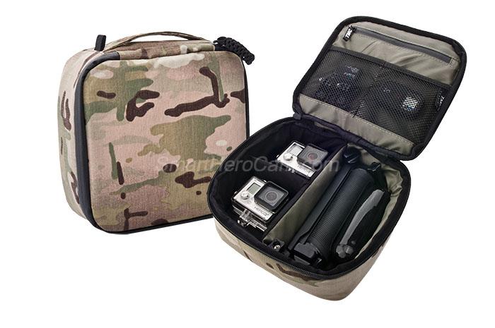 กระเป๋ากล้อง ยี่ห้อ TMC Sport ไซส์ M - ( 22 x 20 x 7 cm ) ลายพราง