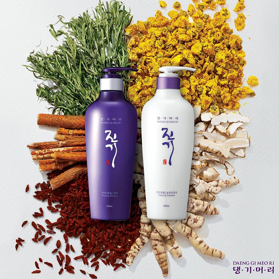 แทงกิโมริ Daeng gi meo ri Vitalizing shampoo 300 ml. & Treatment 300 ml.