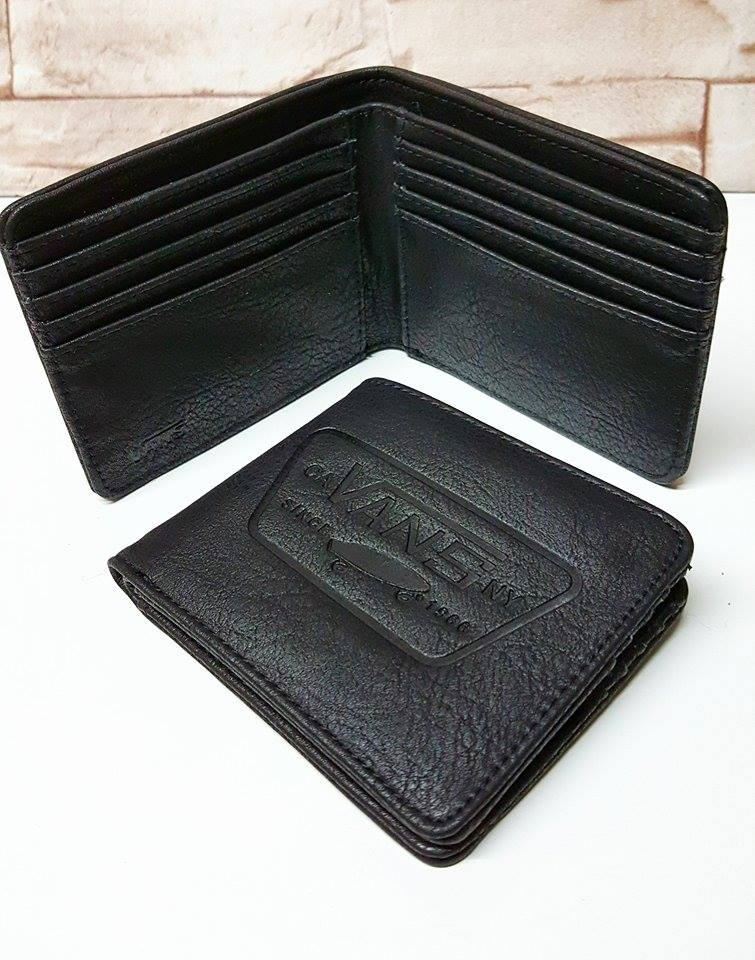 f2ce36e138fd2d Vans Full Patch Bifold Wallet Black - stamp cm   Inspired by LnwShop.com