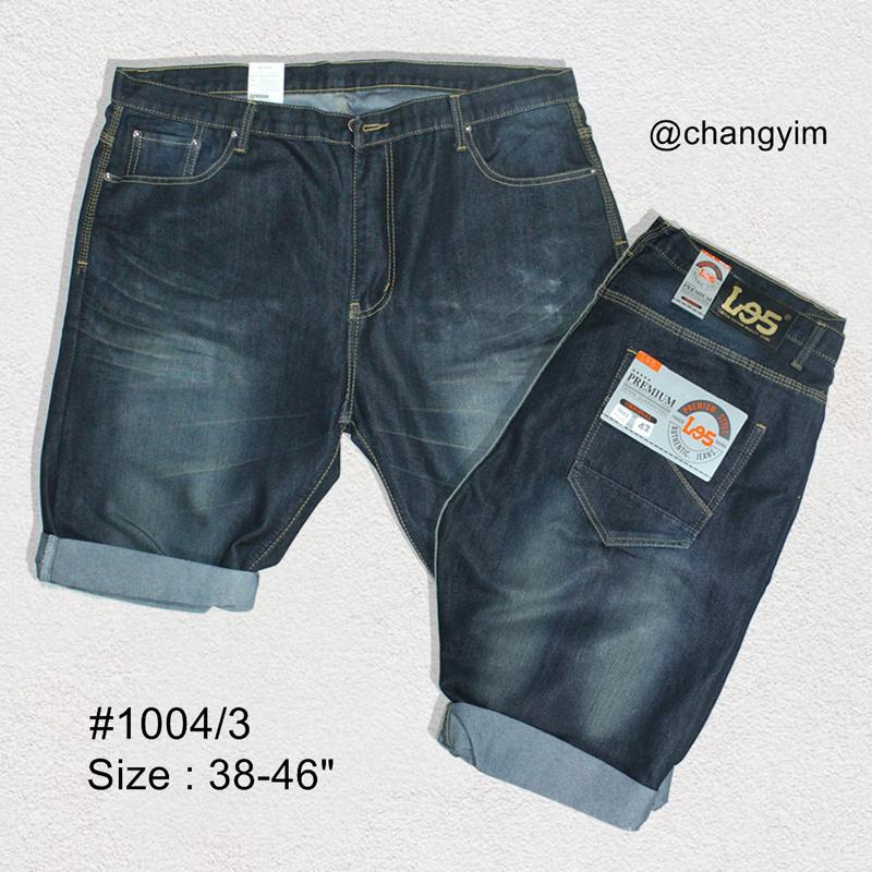 """กางเกงยีนส์ ขาสั้น ผู้ชายอ้วน Size 38""""- 46"""" #1004/3"""
