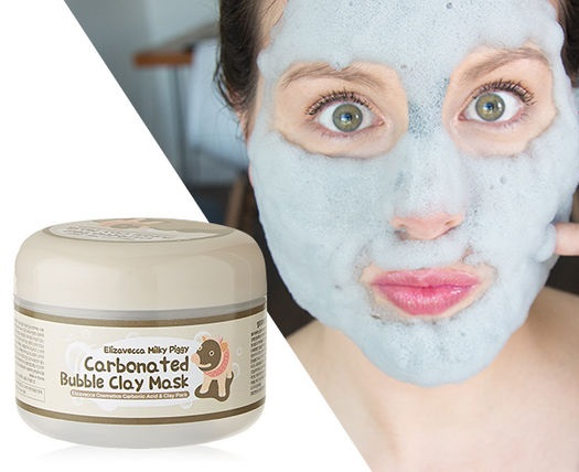 Elizavecca Milky Piggy Carbonated Bubble Clay Mask มาร์คหมู ฟูฟ่อง ขนาด 100 g. มาส์คหมูฟองฟู่ ที่ติดอันดับ 1 ใน 3 เกาหลี