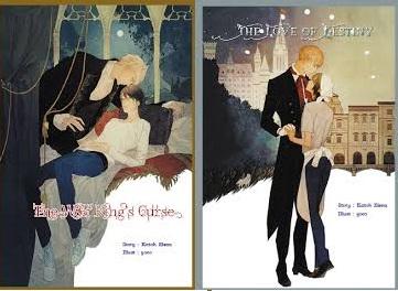 The Wolf King's Curse + The Love of Destiny + mini : Katoh Elena