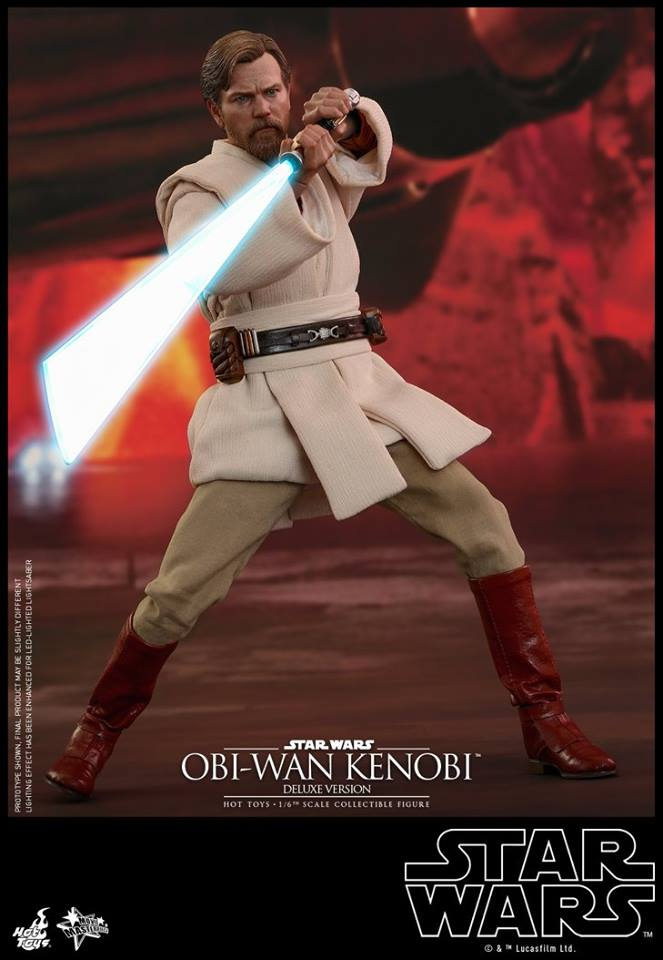 26/04/2018 Hot Toys MMS478 STAR WARS: EPISODE III REVENGE OF THE SITH - OBI-WAN KENOBI (DELUXE VERSION)