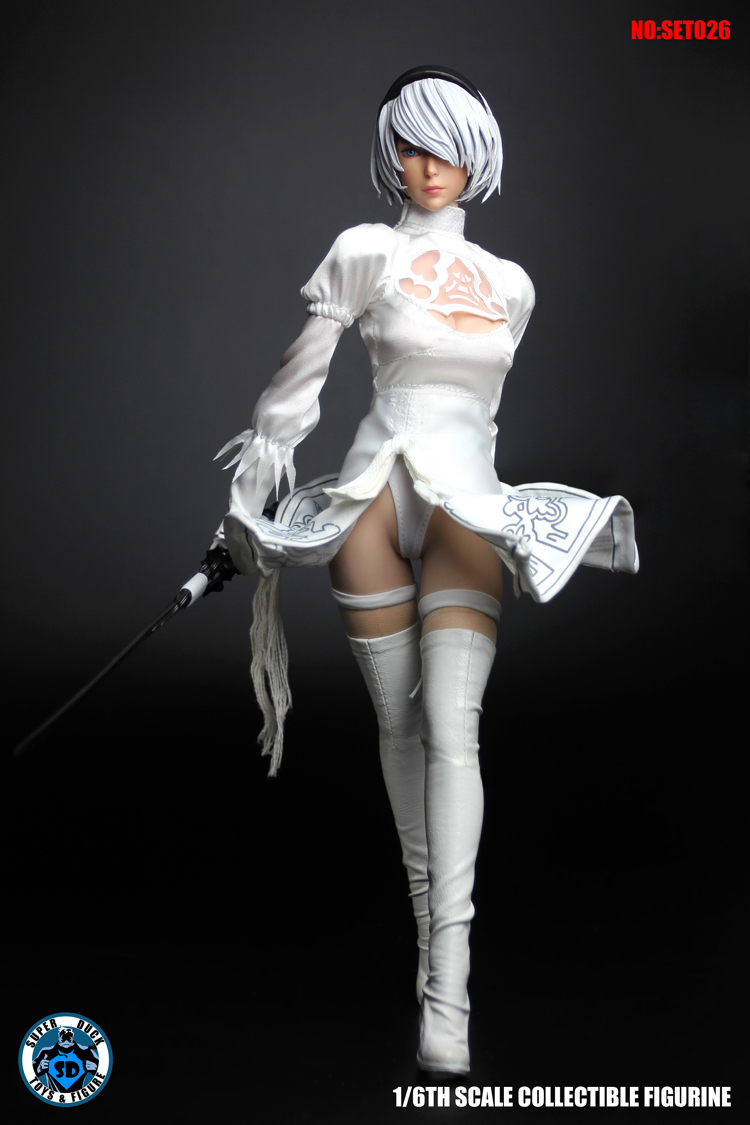 04/05/2018 SUPER DUCK SET026 Cosplay Series - Sexy Mannequin White Suit