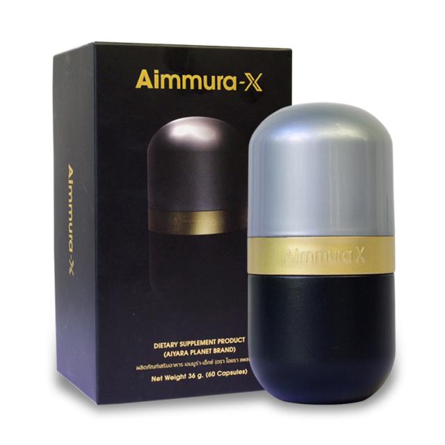 Aimmura-X เอมมูร่า เอ็กซ์ สารเซซามินสกัด จากงาดำ บรรจุ 60 แคปซูล ราคา *** บาท ส่งฟรี