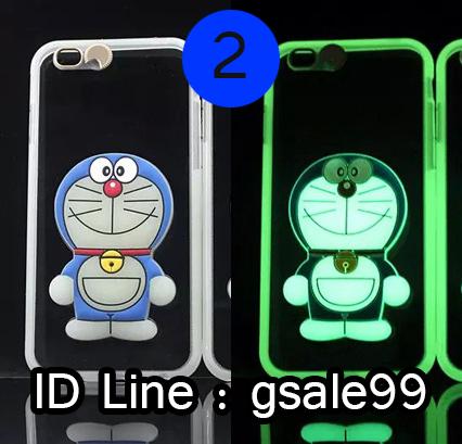 เคส iPhone SE (รองรับ 5 5s) โดราเอมอนเรืองแสง (2) ส่งฟรี EMS