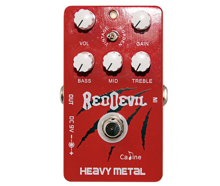 "Caline CP-30 ""Red Devil"" Heavy Metal"