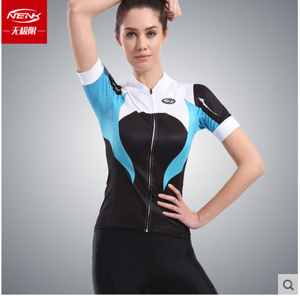 **พรีออเดอร์** เสื้อปั่นจักรยานผู้หญิงแขนสั้น เสื้อจักรยาน NENK สีสันสดใส สวย โดดเด่น เนื้อผ้าดี