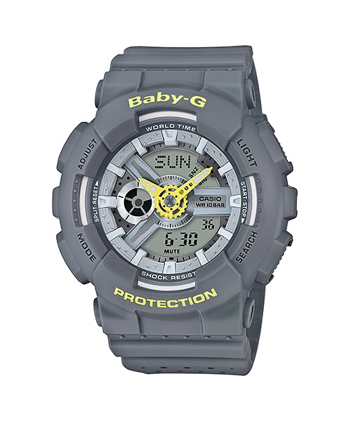 Casio Baby-G Punching Pattern series รุ่น BA-110PP-8A