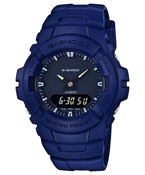 Casio G-Shock Clean Military Color Series รุ่น G-100CU-2A