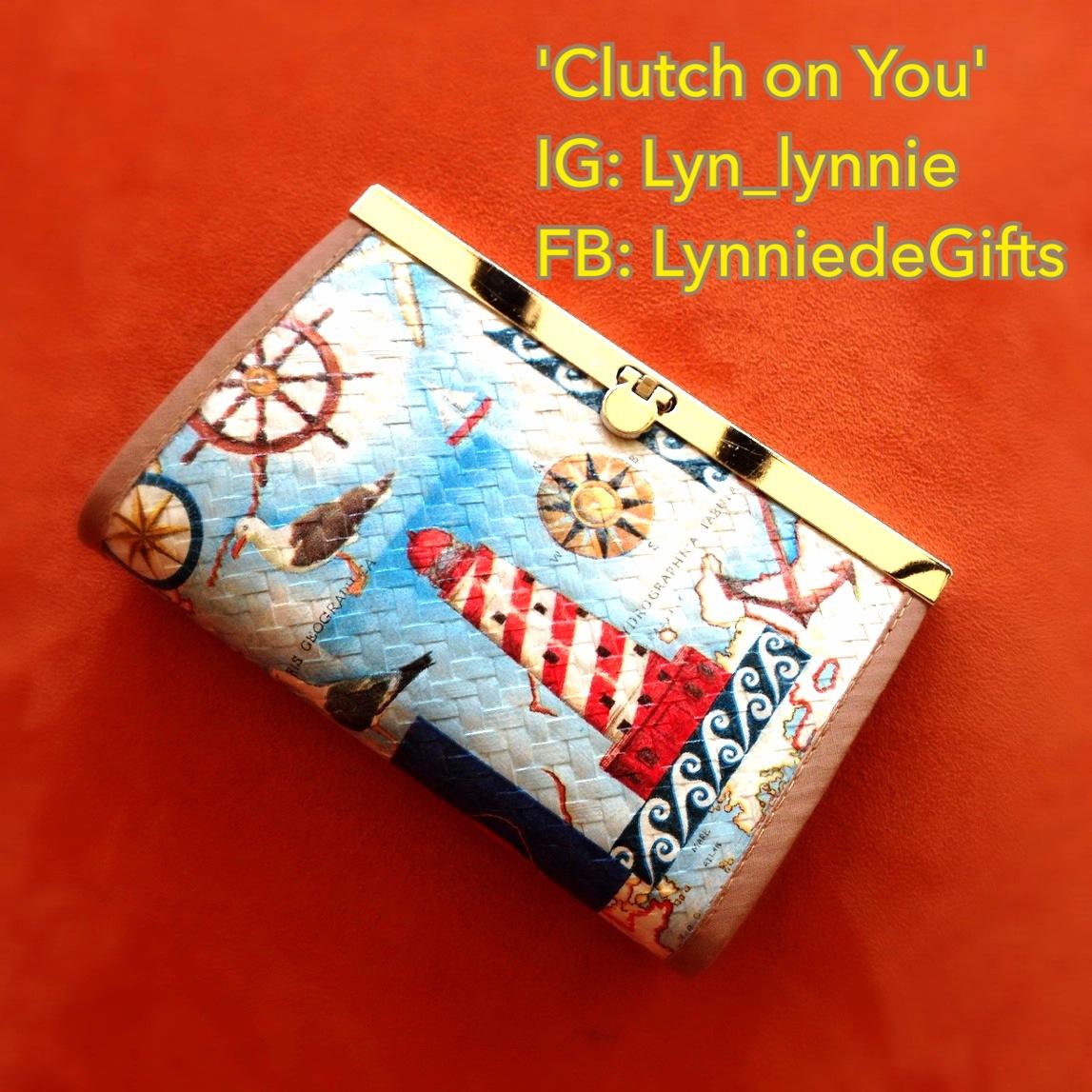 กระเป๋าคลัทช์แถบเหล็ก แฮนด์เมด แบรนด์ Clutch on You