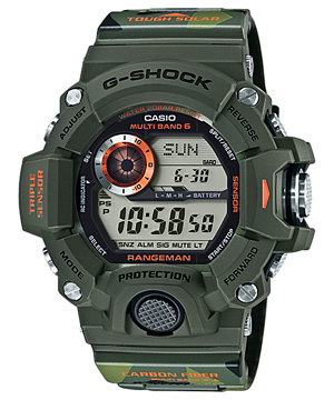 Casio G-Shock RANGEMAN Limited แมวลายพราง รุ่น GW-9400CMJ-3JR (Japan)