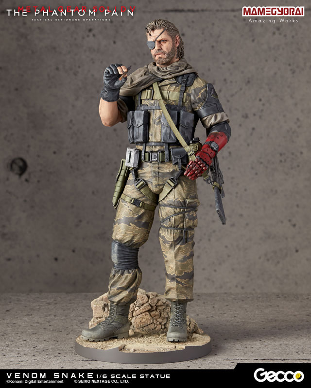 Metal Gear Solid V: The Phantom Pain - Venom Snake 1/6 Scale Statue(Pre-order)