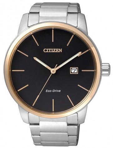 นาฬิกาข้อมือผู้ชาย Citizen Eco-Drive รุ่น BM6964-55E, 50m Elegant