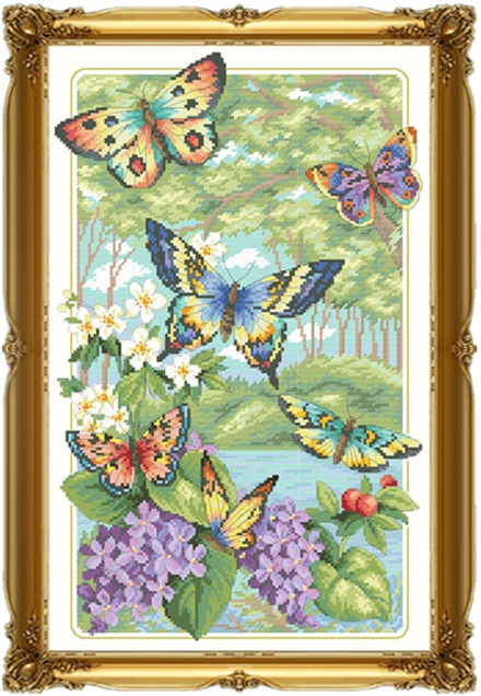 Butterfly (ไม่พิมพ์ลาย)