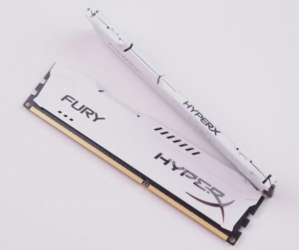 HyperX FURY DDR3 4GB 1600 AMD สีขาว
