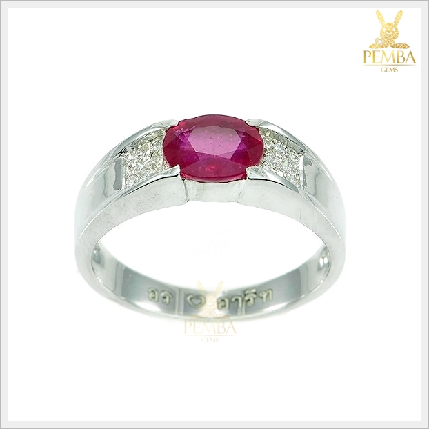 แหวนทับทิมแท้ ราชาแห่งอัญมณี เสริมอำนาจความร่ำรวย