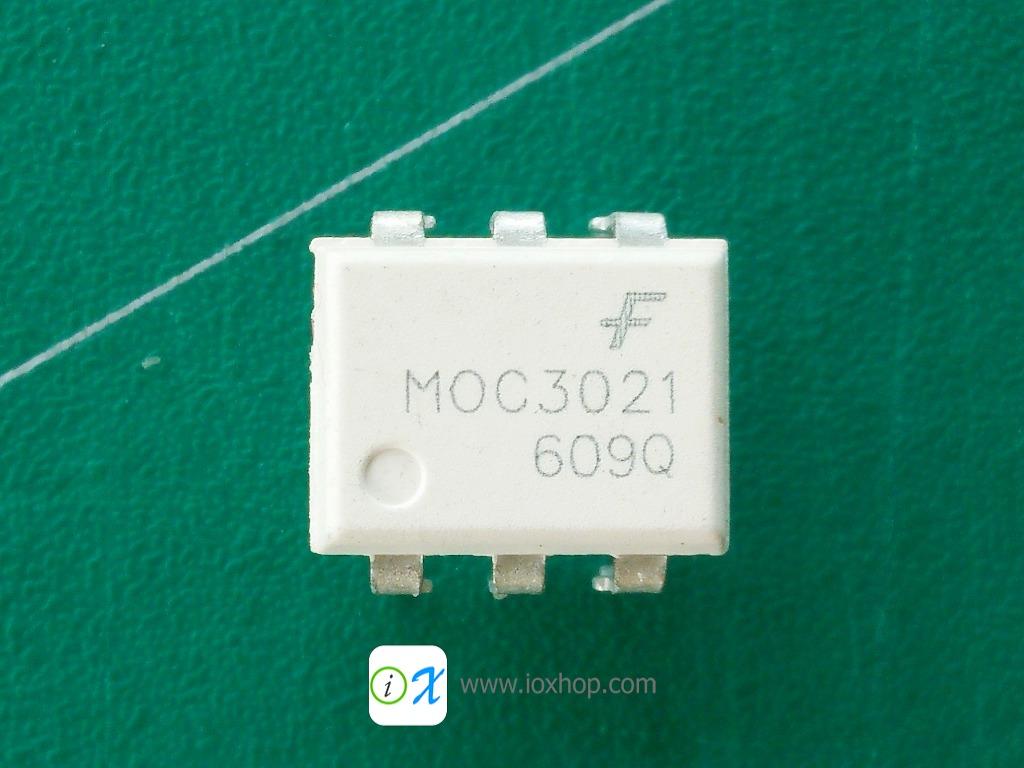MOC3021 TRIAC Driver Optocoupler