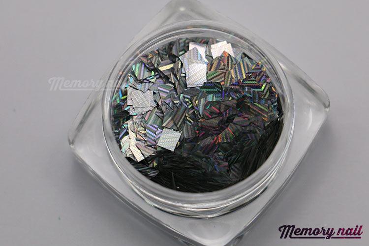 กากเพชรสีเงิน,กากเพชรสีเงิน เรเซอร์ลายเส้น,กากเพชรติดเล็บ,กากเพชแต่งเล็บ,กลิตเตอร์ 3D,กากเพชร3D
