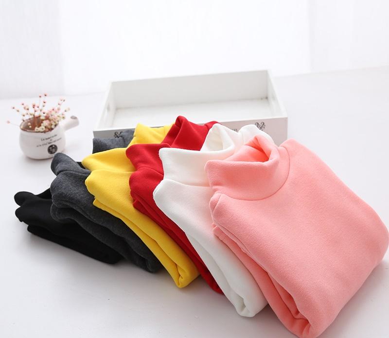 C1-01 เสื้อคอเต่ากันหนาวมีรอยเปื้อนนิดหน่อย ซักได้ ผ้าคอตตอน บุขนกำมะหยี่นุ่ม ใส่อุ่น มีสี ขาว
