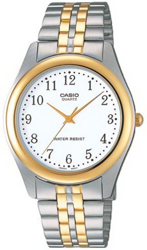 นาฬิกา คาสิโอ Casio 10 YEAR BATTERY รุ่น MTP-1129G-7B