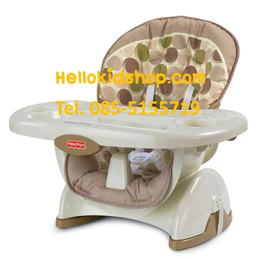 Fisher price space saver high chair tan circle hellokidshop inspired by - High chair for small spaces image ...