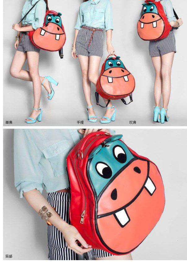 Pre-กระเป๋าเป้ฮิปโป สุดน่ารัก