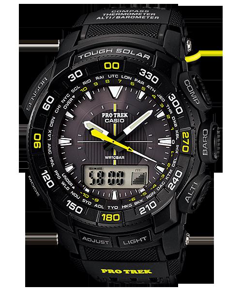 นาฬิกา คาสิโอ Casio PRO TREK ANALOG INDICATOR รุ่น PRG-550G-1