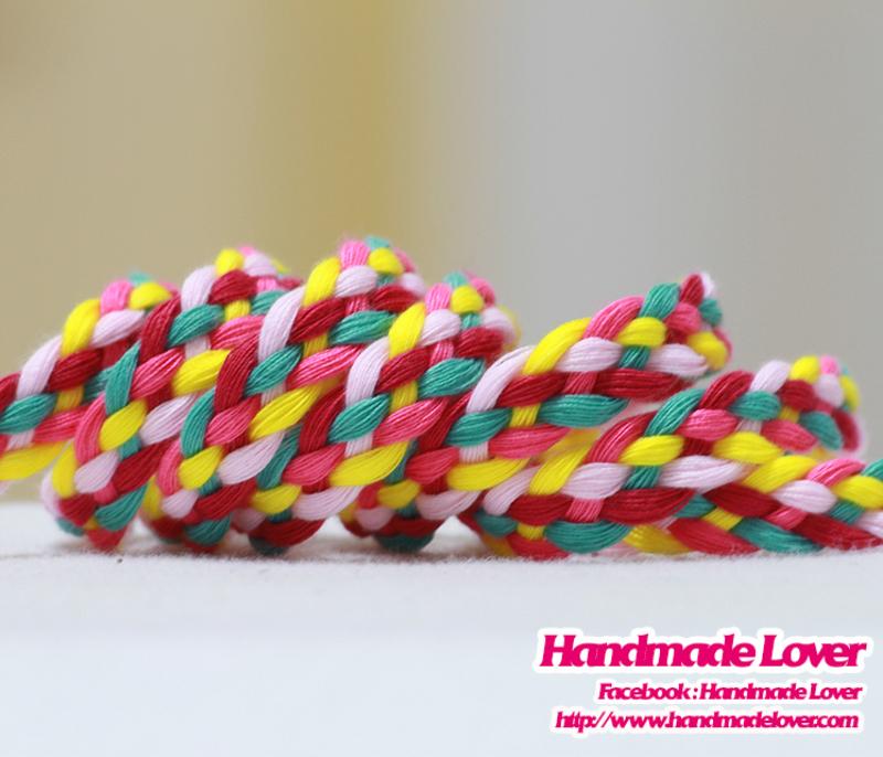 เชือกผ้าถัก สีหวาน (N1)
