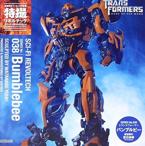 Revoltech Sci-Fi No.038 Transformers Dark Of The Moon Bumblebee NEW